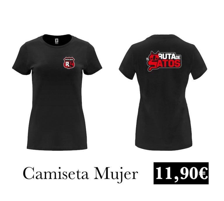 Camiseta Mujer Negra
